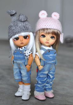 Girls in Overalls ♥♥ *Joey & Jayme** | by ♥ Elly Jelly ♥