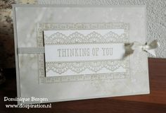 stampin up, falling in love, delicate details, sale-a-bration, gratis stempels, sahara sand, thinking of you, clean and simple card, dospiration