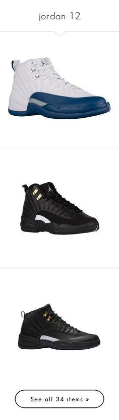 """jordan 12"" by aniahrhichkhidd ❤ liked on Polyvore featuring jordans, men's fashion, men's shoes, shoes, sneakers, mens retro shoes, mens shoes, jordans., jordan 12 and 12s"