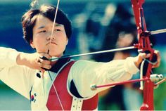 Kim Soo-Nyung was a member of the South Korean Olympic archery team in 1988, 1992, and 2000, winning the individual gold medal in 1988 in Seoul, the silver medal in 1992 and the bronze medal in 2000. She is the most decorated Olympian in Korean history. In 2011, Kim was declared the Female Archer of the 20th Century by the International Archery Federation