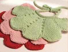 Too cute - definitely going to make one of these petal bibs for spring