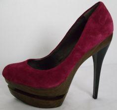 JESSICA SIMPSON Purple Heels Size 8 #JessicaSimpson #Stilettos