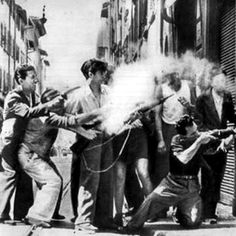 Piombino ( Tuscany)  September 10,1943. After the armistice, citizens, workers and sailors  of the Regia Marina Italiana decide to fight the Nazifascists instead of surrendering to the Germans.