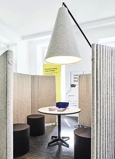 Archiproducts Milano opens in the beating heart of the new Tortona, among art… Office Space Design, Workplace Design, Corporate Interiors, Office Interiors, Commercial Design, Commercial Interiors, Iron Age, Office Screens, Acoustic Wall
