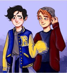 I love this art, but I don't ship jarchie