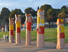 And once again here are some more of the hand painted bollards near Eastern Beach in Geelong Victoria. Photo by: Adrian Wolff  #bollardsgeelong #geelongbollards #art #artwork #geelong #geelongwaterfront #lovecentralgeelong #victoria #landscape #landscapephotography #photography #sun7 by life_on_hold_photography http://ift.tt/1JtS0vo