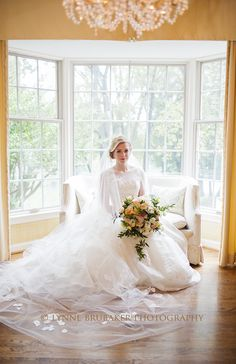 Beautiful bride in Peter Langner.  Planning and Design by Pineapple Productions.  Floral Design by Beehive Events.  Photography by Lynne Brubaker.