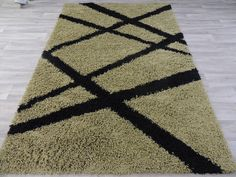 Olive Green Turkish Shaggy Rug Size: 160 x Shaggy Rug, Machine Made Rugs, Bargello, Rugs Online, Handmade Rugs, Rug Size, Olive Green, Bohemian Rug, The Incredibles