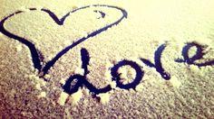 Quando dalla neve si ottiene tanto amore♥♥