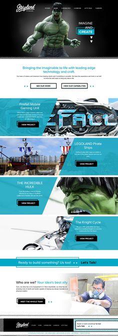 storylandstudios.com website   love the transition animations, adlib  contact form + overall design