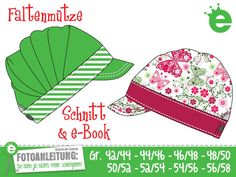 Sewing instructions and sewing pattern pleated hat - sewing instructions at Makerist, Summer Hats, Summer Girls, Sewing Tutorials, Sewing Patterns, Sewing Ideas, Sewing Projects, Legal Size Paper, Romantic Girl, Letter Size Paper