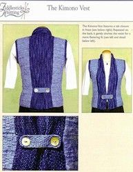 forget the tabs...can combine machknit with handwoven....
