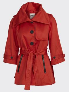 Sui Short Trench Jacket from Object