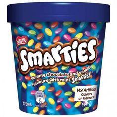 Nestle's Smarties Ice Cream