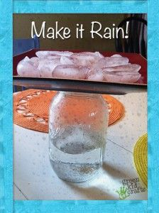 Make it rain inside your house with this simple science experiment!