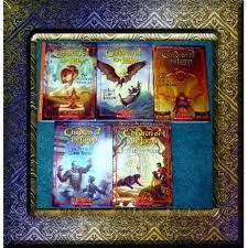 One of our favorite series-Children of the lamp by P.B. Kerr.