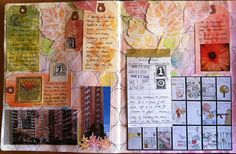 Beautiful art journaling.