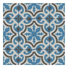 "Found it at Wayfair - Tanger 8"" x 8"" Cement Tile in 2 Color Blend"