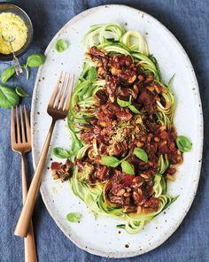 Zucchini Spaghetti   MiNDFOOD