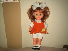 retro malou panenku zrzavé vlasy - obrázek číslo 1