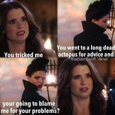 LOL! Sorry Ariel, but this time Regina is right. :( I hope you find Eric soon though! :'(