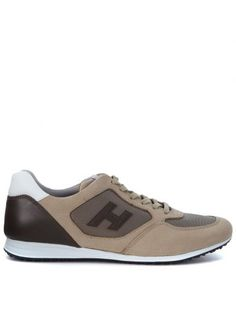 HOGAN Sneaker Hogan Olympia X H205 In Nabuk Beige. #hogan #shoes #https: