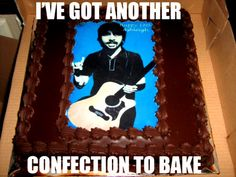 dave grohl + foo fighters + confections!