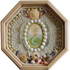 Sailor's valentine box by Lynda Susan Hennigan.