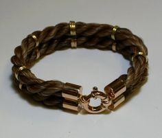 Mart Holtrop Galope - Persoonlijke sieraden van paardenhaar: Sieraden - Armbanden