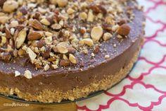 Nutella Cheesecake No BAKE   Simply Bakings   Includes Video Tutorial #bestnobakedesserts #bestnutellarecipes #bestchocolaterecipes #easynutellarecipes