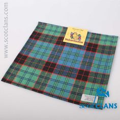 Stewart Old Tartan Pocket Square. Free worldwide shipping available.