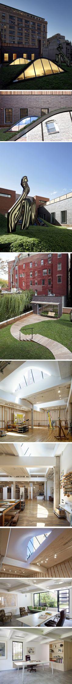 Artist Residence and Studio par Caliper Studio