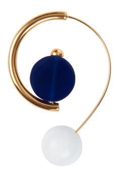Shop now. Marni Hoop Earrings With Resin. Not so much earrings as mini sculptures for your ears, Marni's conceptual take on classic hoops encapsulates the Italian house's nous for statement jewellery. These curved hoops feature bold resin drops and add a modernist accent to any look.