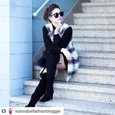 #Repost @wannabefashionblogger with @repostapp.  Happy Thursday friends!!!! Any of you ever wake up on Thursday thinking it's Friday? Well that happened to yours truly this morning and I'm still grumpy about it. At least Friday is only a day away! Also I know you saw me in this vest while I was traipsing around NYC but I have been literally wearing it at least twice a week since I bought it! Oh and it's on sale! Shop it all here  @liketoknow.it www.liketk.it/1Ve2v #liketkit #inourshoes…