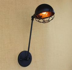 ==> [Free Shipping] Buy Best American Style Industrial Vintage Wall Light Edison Wall Sconce Lampara De Pared Arandelas applique murale apliques pared Online with LOWEST Price | 32559187918