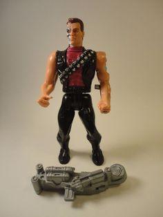 TERMINATOR 2 POWER ARM Terminator KENNER T2 Judgement Day Action Figure 1991 #Kenner