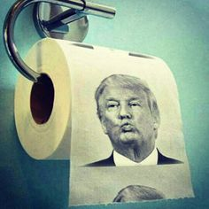 Donald Trump Toilet Paper #giftsformen #giftsshop for_gag gifts