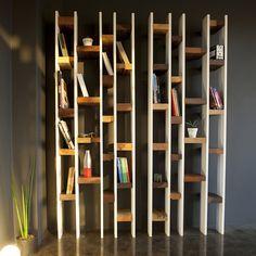 Déco écolo : la bibliothèque ''R60'' Kann Design - Tendances Déco - Déco