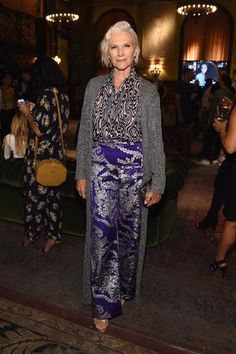 Maye Musk, the model and mother of inventor Elon, is enjoying a 'greynaissance'. Paris Fashion Week's break-out star wasn't a teenage m. Maye Musk, Clothes For Women Over 50, Silver Grey Hair, Advanced Style, Ageless Beauty, Young Designers, Classic Outfits, Classic Style, Grey Fashion