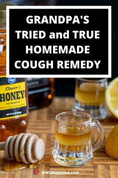 Homemade Cough Remedies, Homemade Cough Syrup, Recipe For Cough Syrup, Sinus Remedies, Health Remedies, Natural Remedies, Whiskey Honey Lemon, Healthy Alternatives, Yummy Drinks