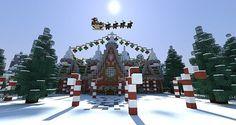 Santa's Workshop | Christmas Special | Minecraft Building Inc