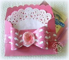 The perfect little envelope treat packet from Stampin' Up! stampsnsmiles.blogspot.com