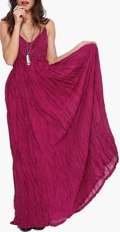Sway Maxi Dress in Wine SOOOO ME!!
