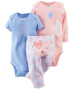 Carter's Baby Clothes at Macy's are available in baby, toddler and kids' sizes. Browse Carter's Baby Clothes at Macy's and find cute baby clothes for your little one today! Outfits Niños, Baby Outfits, Kids Outfits, Carters Baby Girl, Baby Girl Newborn, Cute Babies, Baby Kids, Baby Layette, Cute Baby Clothes