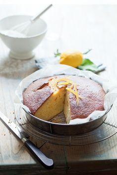 Découvrez la recette du gâteau au citron super moelleux - Le blog des Huiles Végétales
