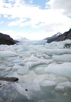 Hielos del Glaciar Grey