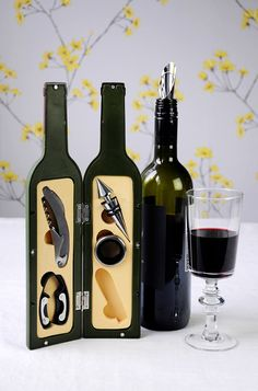 Wine bottle bar set Fathers Day Gift Ideas from Dotcomgiftshop
