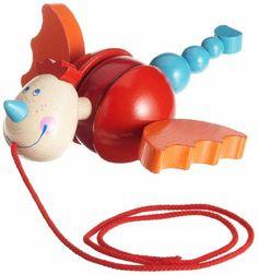 HABA Diego Dragon Pull toy by Haba. $36.08