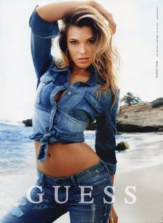 Samantha Hoopes | SAMANTHA HOOPES – GUESS JEANS – SPRING SUMMER 2014 CAMPAIGN