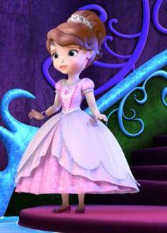 Princess Sofia Dress, Disney Princess, Sofia The First Characters, Auradon, Grad Dresses, Disney Junior, Super Heros, Lisa, Cartoons